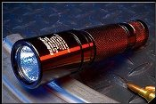DARK OPS HELLFIGHTER X-4 FLASHLIGHT - RED - CLEARANCE SALE!