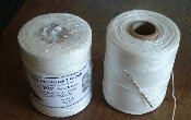 SAIL TWINE - ONE POUND - WAXED - WHITE - 440 YARDS