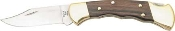 BUCK - RANGER LOCKBACK FOLDING KNIFE W/ FINGER GROOVED HANDLE