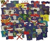 COMPLETE SET OF 50 STATES - OUTDOOR SET - 4'x6'