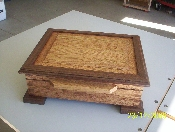JEWELRY BOX - WALNUT AND OAK
