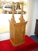 "BELL STAND, SOLID HARDWOOD - THE ""ADMIRAL LEAHY"""