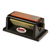 TRI-HONE DIAMOND AND ARKANSAS STONE KNIFE SHARPENING SYSTEM