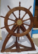SHIP'S WHEEL DISPLAY