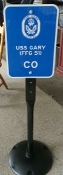 PARKING SIGNS AND STANDS - TWO COLOR SIGN
