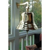 "BELL, SHIP'S 12"" BRASS"