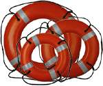 RING BUOY - 24 INCH WITH REFLECTIVE MARKINGS